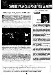 JML 1991 Automne La Lettre d'information du comité français pour ...