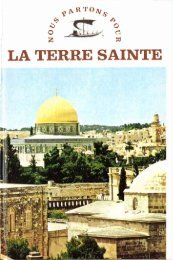 JML 1973 Préface La Terre Sainte - Institut Jean-Marie Lustiger