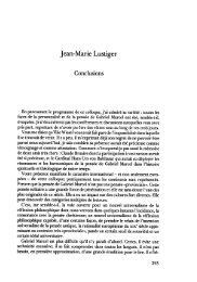 JML 1988 Conclusion Colloque Gabriel Marcel - Institut Jean-Marie ...