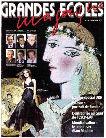 JML 2003 01 Grandes Ecoles magazine Réflexion de cardinal