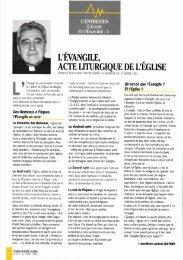 JML 1995 04 27 - 07 27 PND Série L'Eglise et l'Evangile