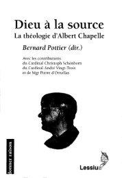 JML 2003 02 08 Homélie Père Albert Chapelle Dieu à la source