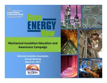 Mechanical Insulation Education and Awareness Campaign
