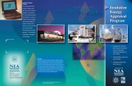 Insulation Energy Appraisal Program - National Insulation Association