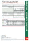 rockwool duct liner - CSR Bradford - Page 2