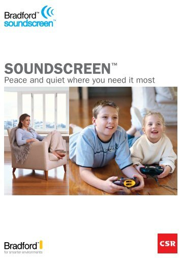 SoundScreen™ - Insulation Industries