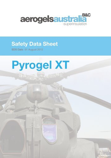 PyrogelXT MSDS - Insulation Industries
