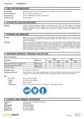 PyrogelXT MSDS - Insulation Industries - Page 3