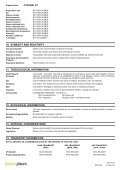 PyrogelXT MSDS - Insulation Industries - Page 4