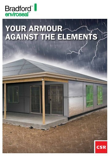 Your armour against the elements - Insulation Industries