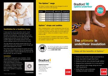 The ultimate in underfloor insulation D I Y - Insulation Industries