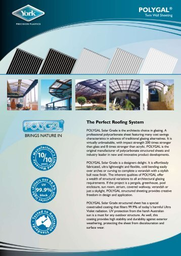 POLYGAL® - Insulation Industries