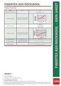 FIBERTEX 820 R OCKW OOL – D ATA SHEET - Insulation Industries - Page 2