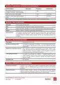 Glasswool MSDS - CSR Bradford - Page 2
