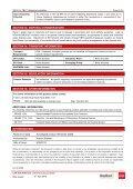Glasswool MSDS - CSR Bradford - Page 6