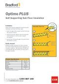 Optimo PLUS - Insulation Industries - Page 2