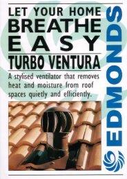 Turbo Ventura Turbine Ventilator 150mm - Insulation Industries