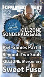 Inoffizielles PlayStation eMagazin KRYSCHEN #015