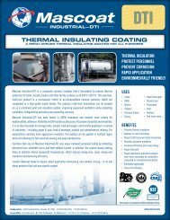 THERMAL INSULATING COATING - Insulation Industries
