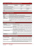 Glasswool MSDS - Insulation Industries - Page 2