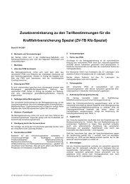 ZV-TB Kfz-Spezial