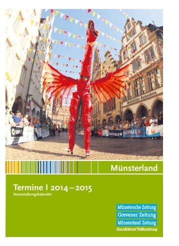 Veranstaltungskalender Münsterland 2014