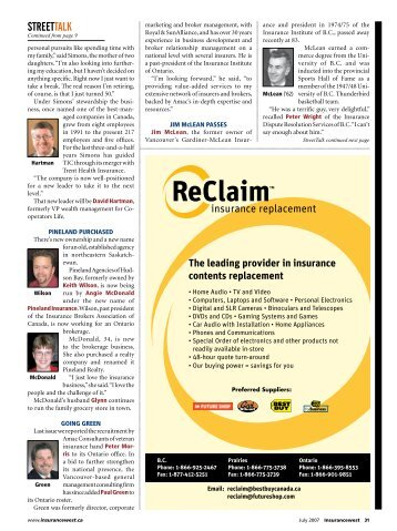 Pages 31 - Insurancewest Media Ltd.