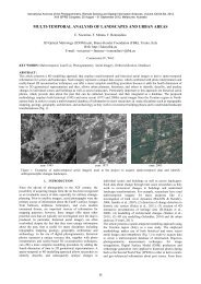 multi-temporal analysis of landscapes and urban ... - ISPRS Archives
