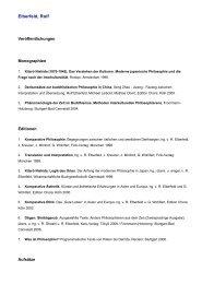 Elberfeld, Rolf - Gesellschaft für Interkulturelle Philosophie