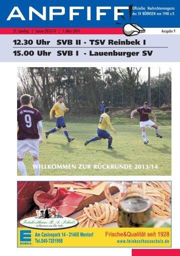 Anpfiff Ausgabe 9 / Spieltag 21