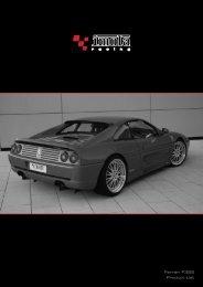 Ferrari F355 Product List - Dimex Group