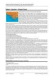 Italien: Ligurien - Cinque Terre - Intakt-Reisen