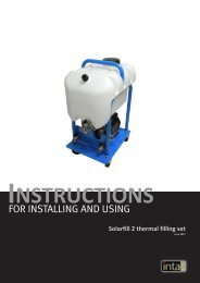 Installation and Operations Manual - Intaeco
