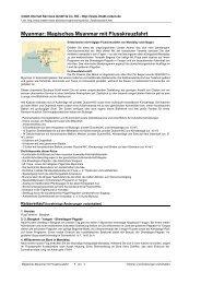 Myanmar: Magisches Myanmar mit Flusskreuzfahrt - Intakt-Reisen