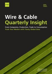 Wire & Cable Quarterly Insight - Integer Research
