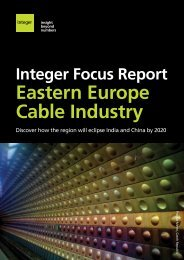 View our Eastern Europe brochure - Integer Research