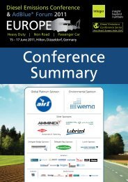 conference Summary - Integer Research