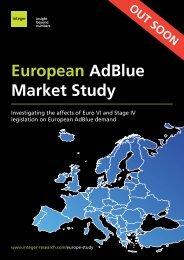 European AdBlue Market Study - Integer Research