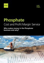 View our Phosphate Service brochure. - Integer Research