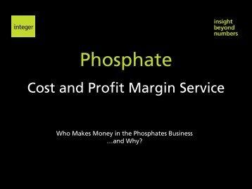 Phosphate - Integer Research