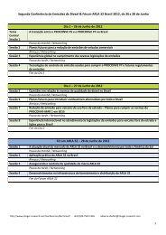 Segunda Conferência de Emissões de Diesel ... - Integer Research