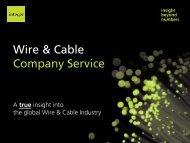 Wire & Cable C S i Company Service - Integer Research