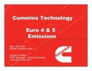 Cummins Technology Euro 4 & 5 Emissions - Integer Research