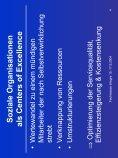 Soziale Organisationen als Centers of Excellence mit ... - Seite 4