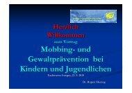 Integra 2010 Vortrag Herzog Gewaltprävention - Fachmesse integra