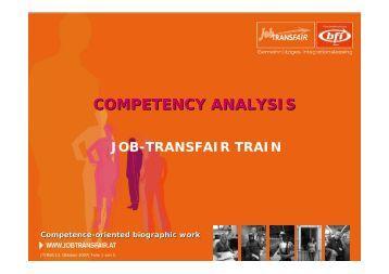 Competence analyses - INTEGRA 2010