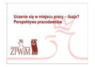 Prezentacja ZPWiM - INTEGRA 2010