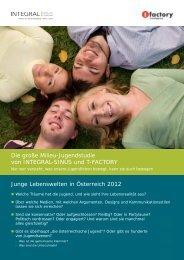 Flyer Jugendstudie Oesterreich - Integral Markt