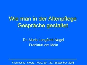 Maria Langfeldt - Fachmesse integra