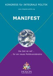 MANIFEST - integrale politik